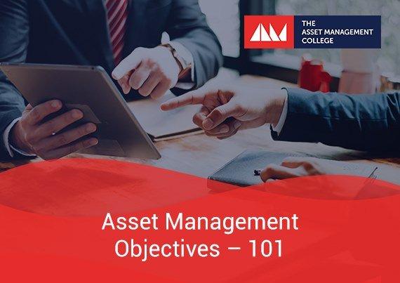 Asset Management Objectives 101
